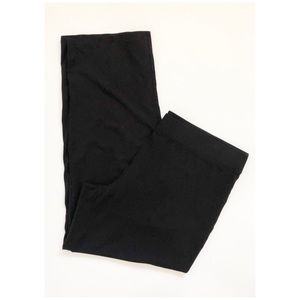 Eileen Fisher Black Pull On Pants Size XL